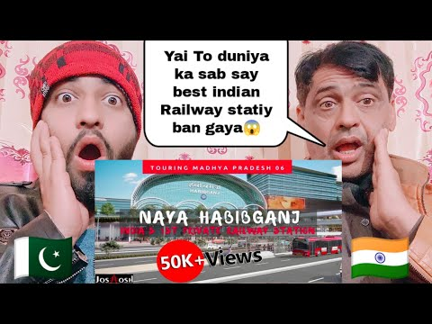 Habibganj Railway Station Redevelopment Project Indian First Private Railway Station By |Pak React|