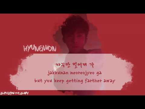 BROKEN HEART - MONSTA X (몬스타엑스) | Color Coded/Hangul/Rom/Eng Lyrics