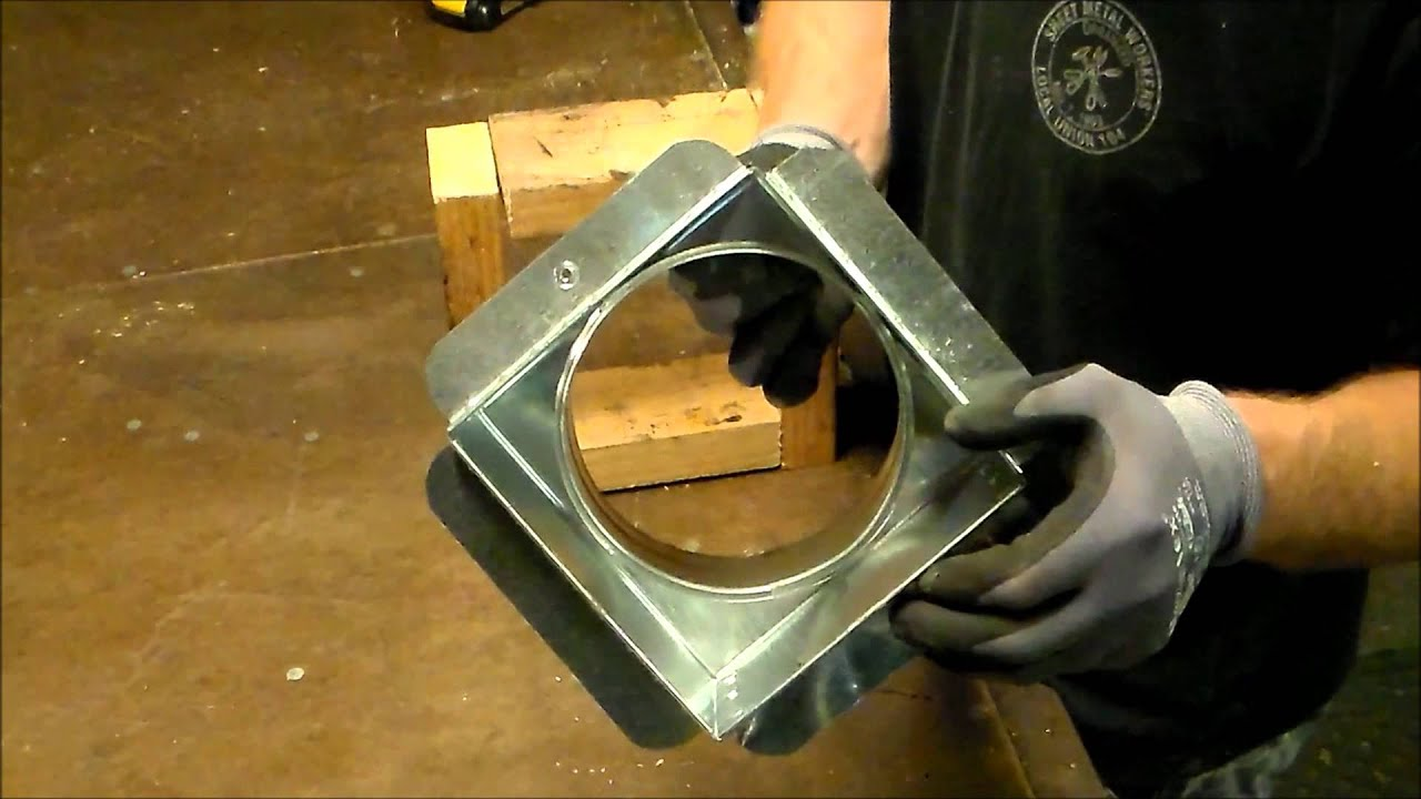 How To Install A Sheet Metal Register