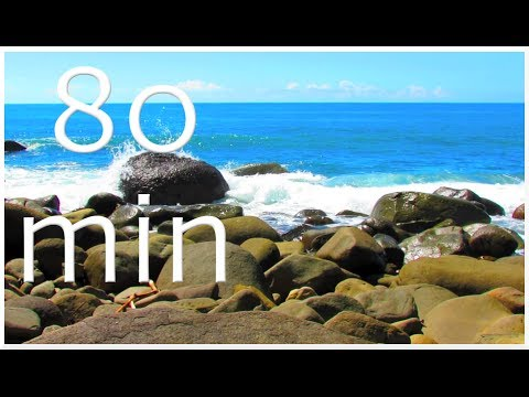 Enchanting Waves - Nature Sounds #7 Costa Rica Slow Television Soundscape