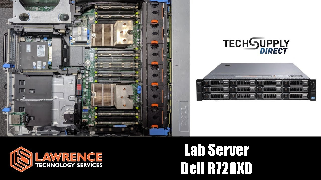 Dell R720XD Lab Server From Tech Supply Direct Review