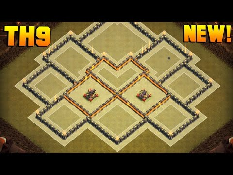 BEST TH9 WAR BASE 2017 + PROOF!! | CoC NEW Town Hall 9 ANTI 3 STAR Base | Clash of Clans