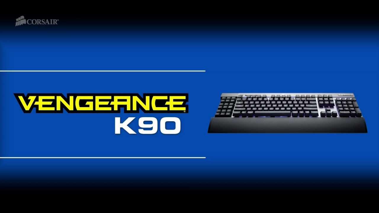 Corsair® Vengeance® K90 Prestanda MMO Mekaniskt Gaming Tangentbord ... bae6c33c87ebd