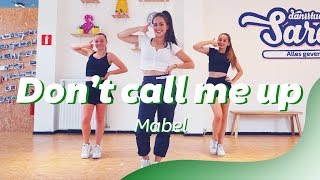 DON'T CALL ME UP - MABEL   Easy Dance Video   Choreography Video