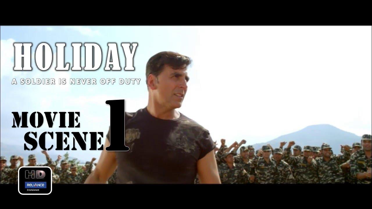 Download Holiday (2014) Official Movie Scene #1  Akshay Kumar,Sonakshi Sinha