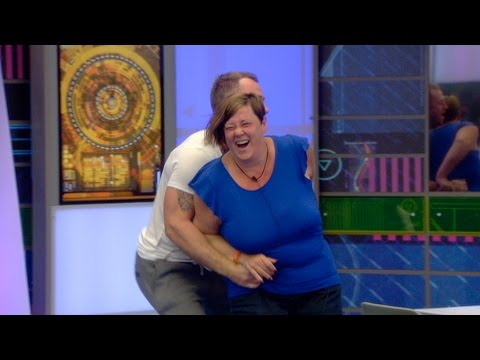 Is Dee ticklish? | Day 20, Celebrity Big Brother