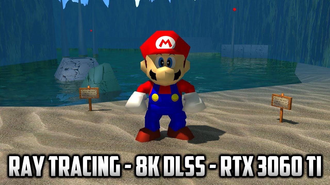 ⭐ Super Mario 64 PC Port - SM64RT - Ray Tracing 8K DLSS
