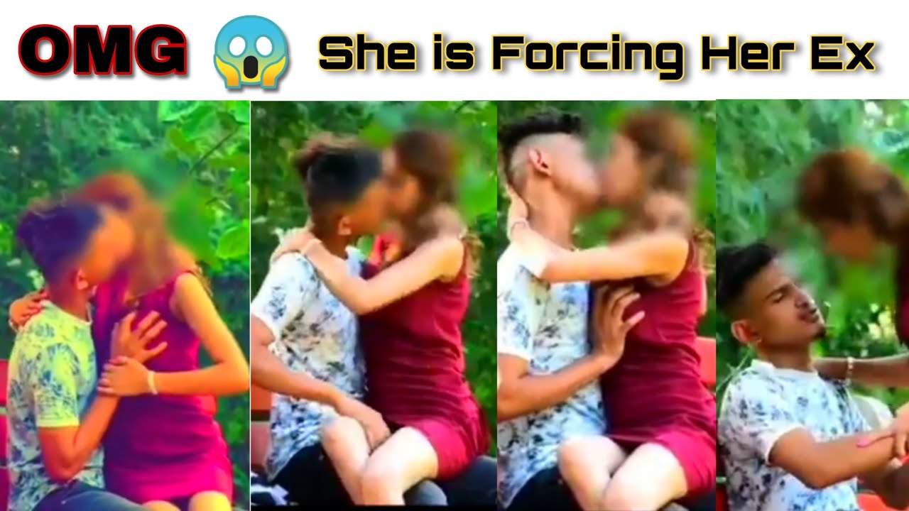 Download OMG 😱 She is Forcing Her Ex   prank cute girl kissing and boob press   Hot Sence   SexyGirl