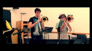 """One More Night"" - Maroon 5 Cover - Paul the Trombonist Feat. Eric Miller Trombone Duo"