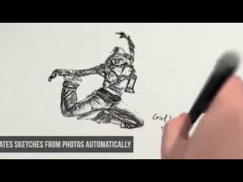 Videohive pencil sketch art free download