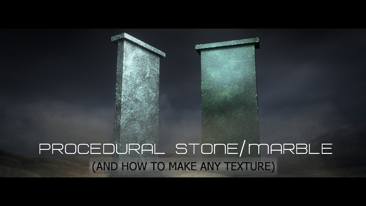 Blender Cycles Tutorial : Stone & Marble, How To Make Any
