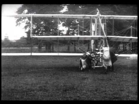 1910 Airplane Flight & Wreck (Silent)