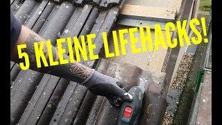 Dachdecker / 5 kleine Lifehacks für Dachdecker / Lifehacks for Roofer