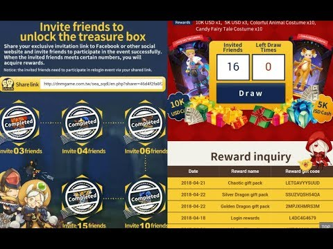 How to get Treasure Box from Pre-Login Event Dragon Nest Mobile