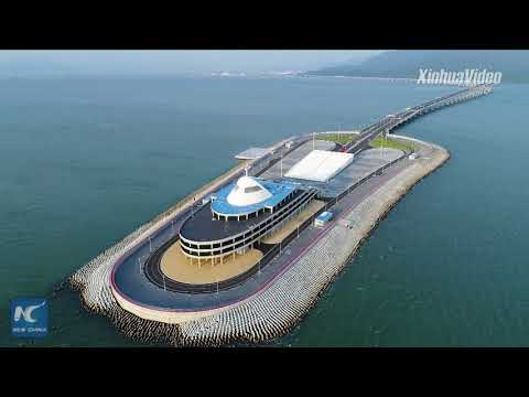 Mega project! Take a ride on world's longest sea bridge