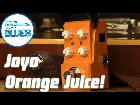 Joyo Ironman Orange Juice Amplifier Simulation Pedal