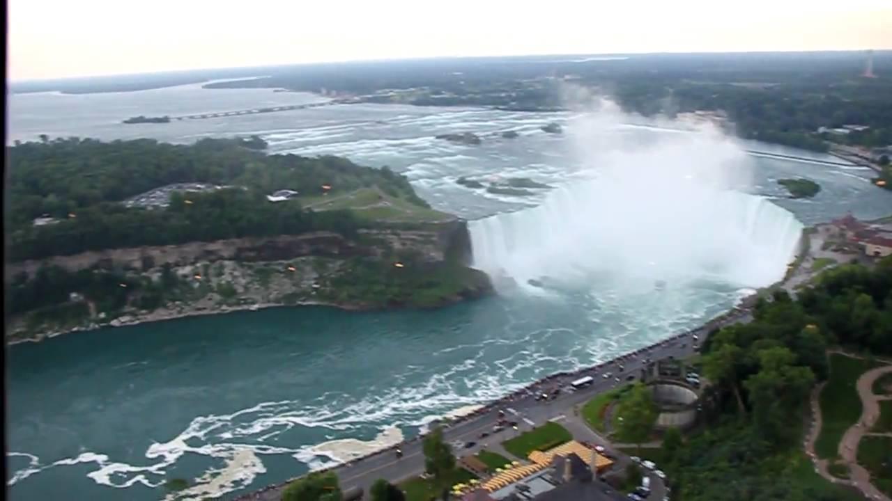 Skylon Tower Revolving Restaurant, Niagara Falls, Canada   YouTube Part 39