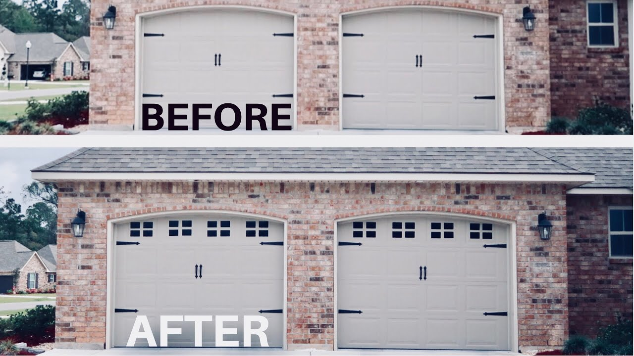 Decorative Magnetic Garage Door Window Panels Review Install Any Beauty