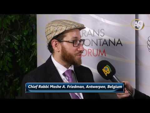 Chief Rabbi Moshe A. Friedman, Antwerpen, Belgium