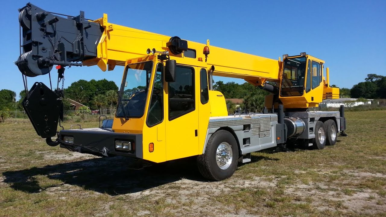 1999 Grove Tms540 40 Ton Crane Florida For Sale