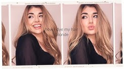 HONEY BLONDE HAIR AT HOME! EASY DIY HAIR COLOR TUTORIAL UNDER 50$   Chloe Zadori