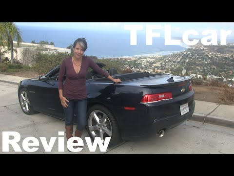2015 Chevy Camaro SS Convertible Review: Topless in San Diego - YouTube