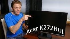 Uusi näyttö - Acer K272HUL