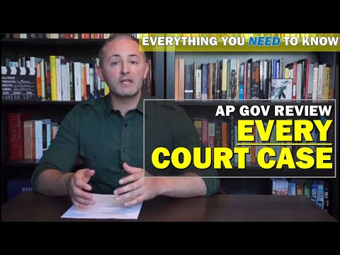 AP Gov Required Cases Exam Review CoronaReview