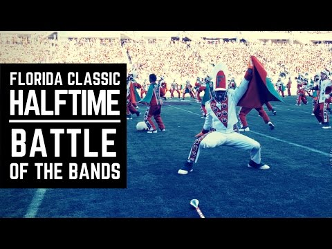 Florida Classic 2016 - Halftime Show | Battle of the Bands