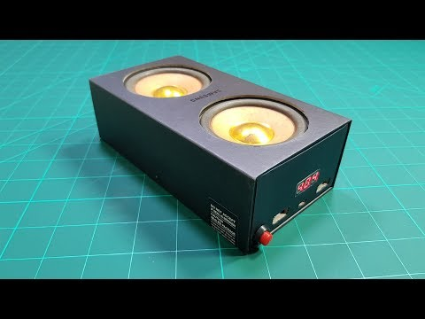 DIY 2in1 - Power Bank and Bluetooth Speaker in Mobile Box
