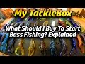 My Tacklebox Ep. 1 - What baits to buy to get started Bass Fishing!