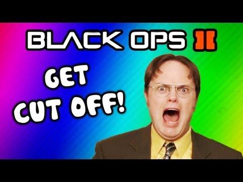 Black Ops 2 Funny Deaths / Last Words - Hunter Killer, Going Ham, Funny Moments (Get Cut Off Ep. 4)