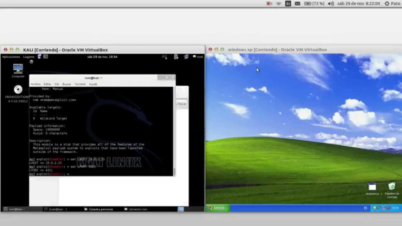 Hack escritorio remoto a windows xp desde kali linux youtube - Conexion a escritorio remoto windows xp ...
