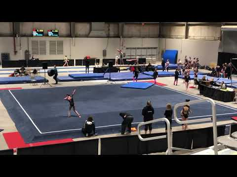 2019 Buckeye Classic Floor Exercise 1st place level 9