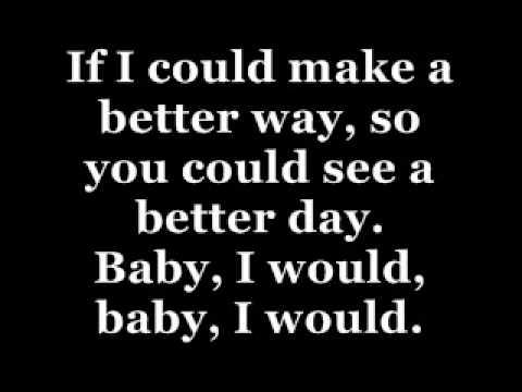 Justin Bieber - I would (lyrics)