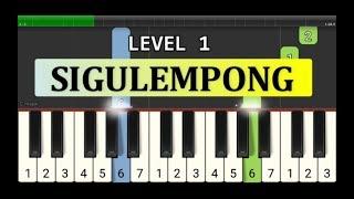 melodi piano sigulempong - tutorial level 1 - lagu daerah nusantara tradisional - tapanuli