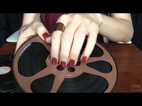 ASMR * Tapping and Scratching * Theme: All Things Cinema * fast tapping * ASMR Villa * ASMRVilla