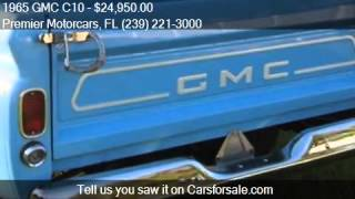 1965 GMC C10  for sale in Bonita Springs, FL 34135 at the Pr