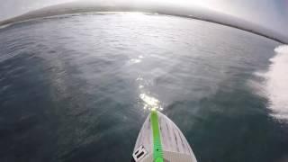 GoPro DIY hat mount: Surfing