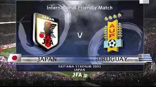 Japan vs uruguay uefa nations league match football