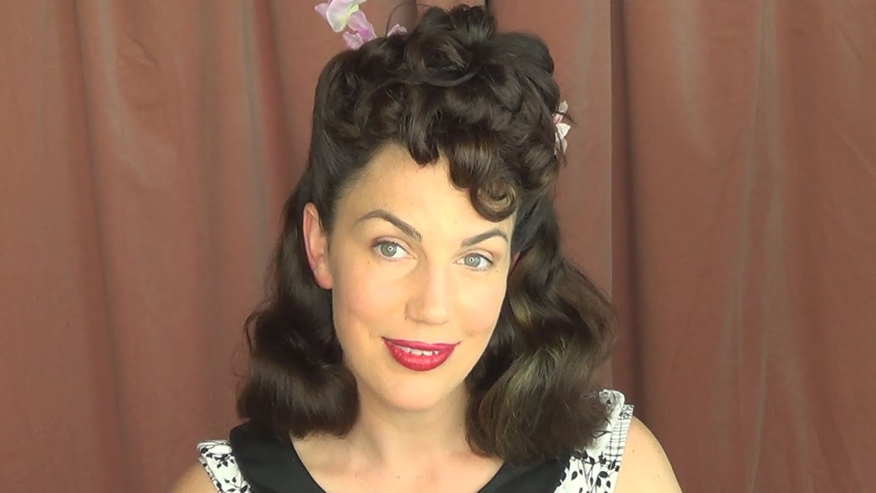 Lucille Ball Inspired Half Poodle Classic Vintage Pinup Hairstyle - Classic vintage hairstyle