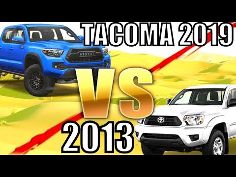 TOYOTA TACOMA 2019 VS 2013 - King Suspension Camburg Racing