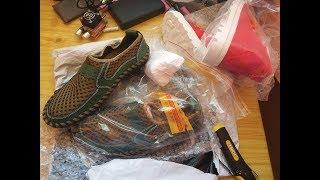 Распаковка обычной обуви с Али
