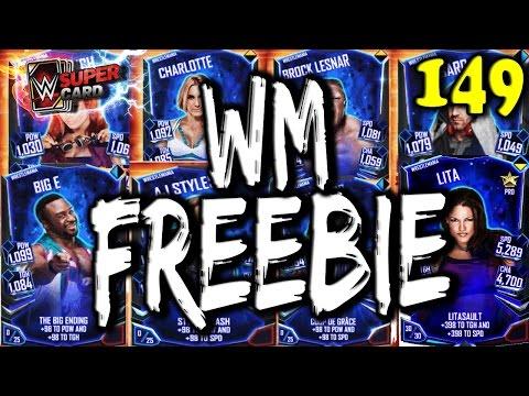 WWE SUPERCARD S2 #149 – WRESTLEMANIA FREEBIE!! - WM TIER IS HERE!!!