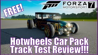 Forza Motorsport 7 Hot Wheel Track Test Review!!!