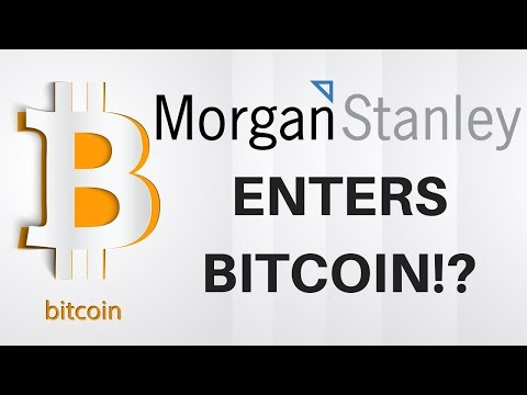 Morgan Stanley Enters BITCOIN!? - Today's Crypto News