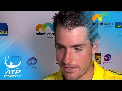 John Isner reflects on winning his first Masters 1000 title | Miami Open 2018 Final Interview