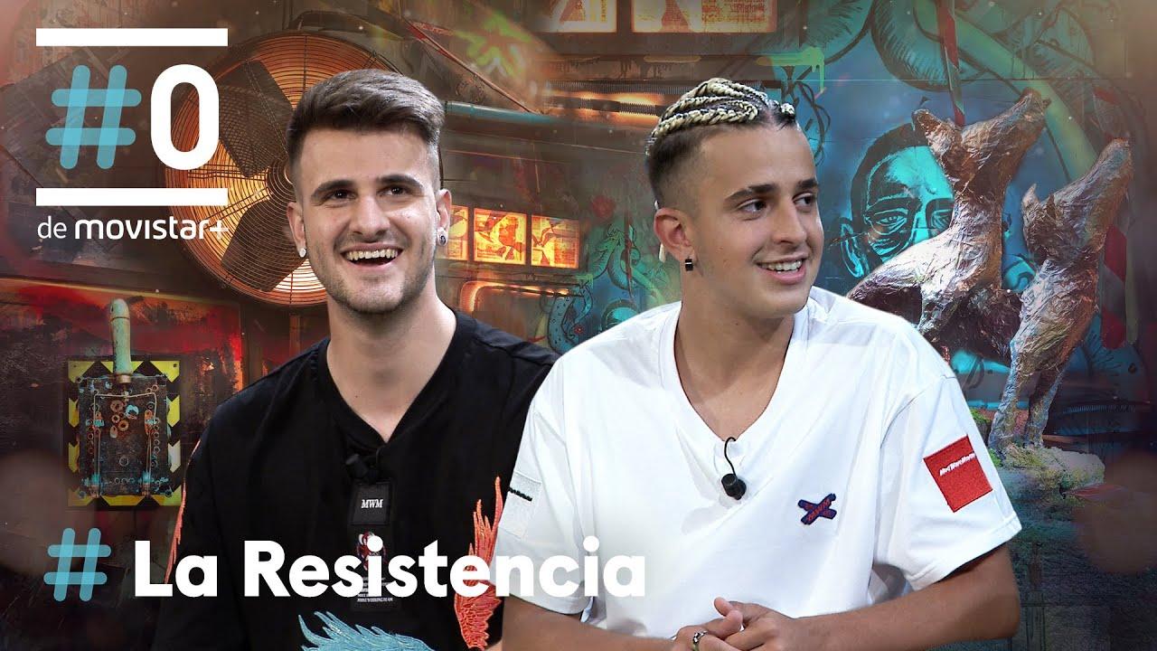 LA RESISTENCIA - Entrevista a Adexe y Nau | #LaResistencia 08.06.2021