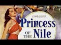 """Belly Dance by Debra Paget in """"Princess of the Nile"""" (1954)"""