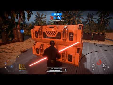 Star Wars Battlefront 2: Galactic Assault Gameplay |